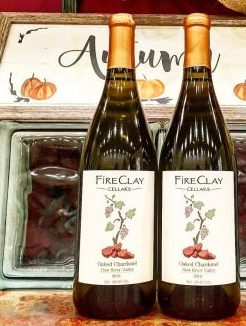 Chardonel, Traminette, and Seyval Blanc. Each of these grapes are hybrids created to be highly resistant disease. FireClay Cellars Won bronze in the 2018 NC State Fair Wine